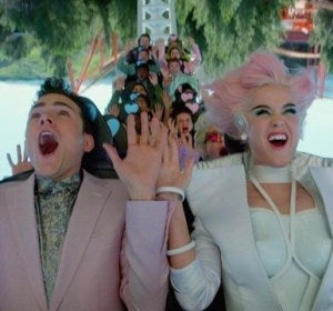 Oblivia, el parque de atracciones de Katy Perry que satiriza el capitalismo
