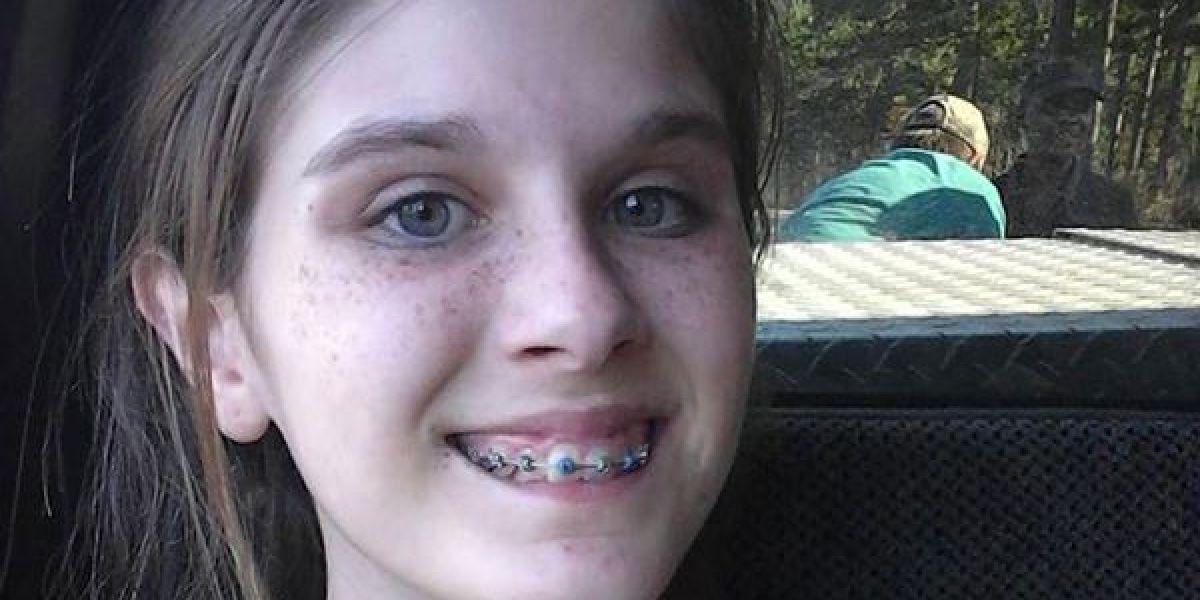 Haley Ogletree y su aterrador selfie