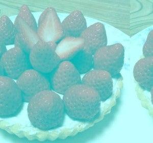 Ilusión óptica: las fresas que no son rojas