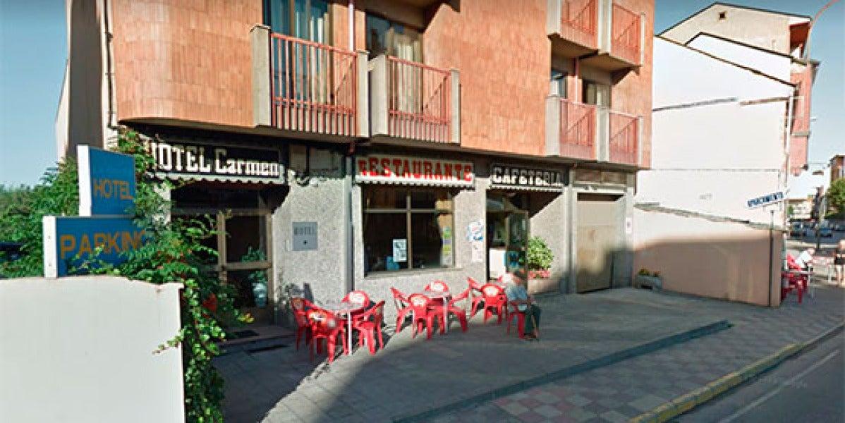 Un 'simpa' en un restaurante en León