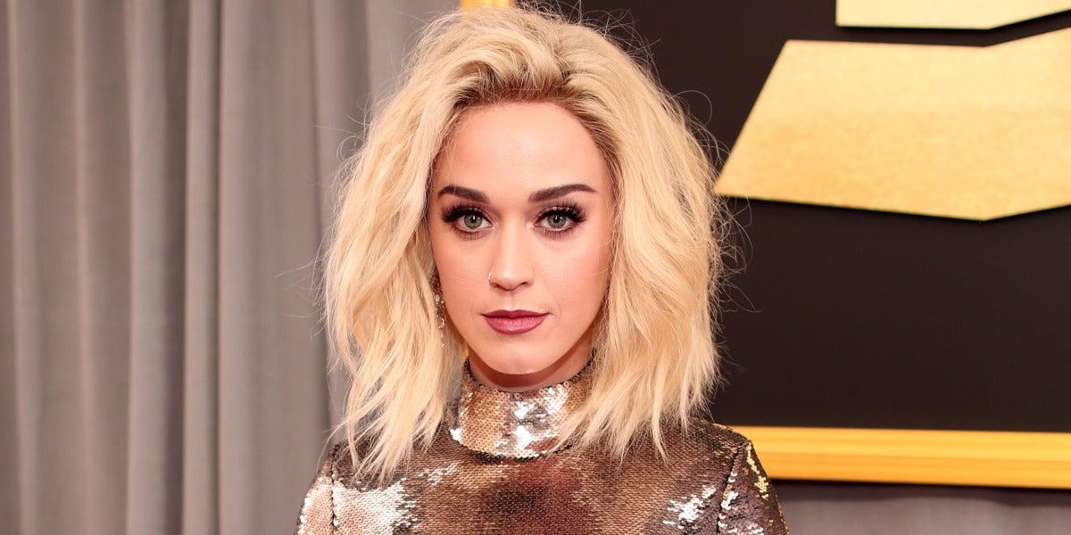 Katy Perry en los Grammy 2017