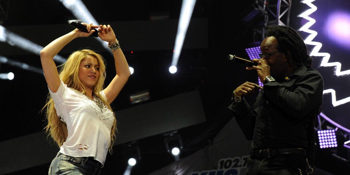Shakira, en concierto