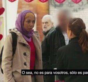 Momento del vídeo de Federación SOS Racismo