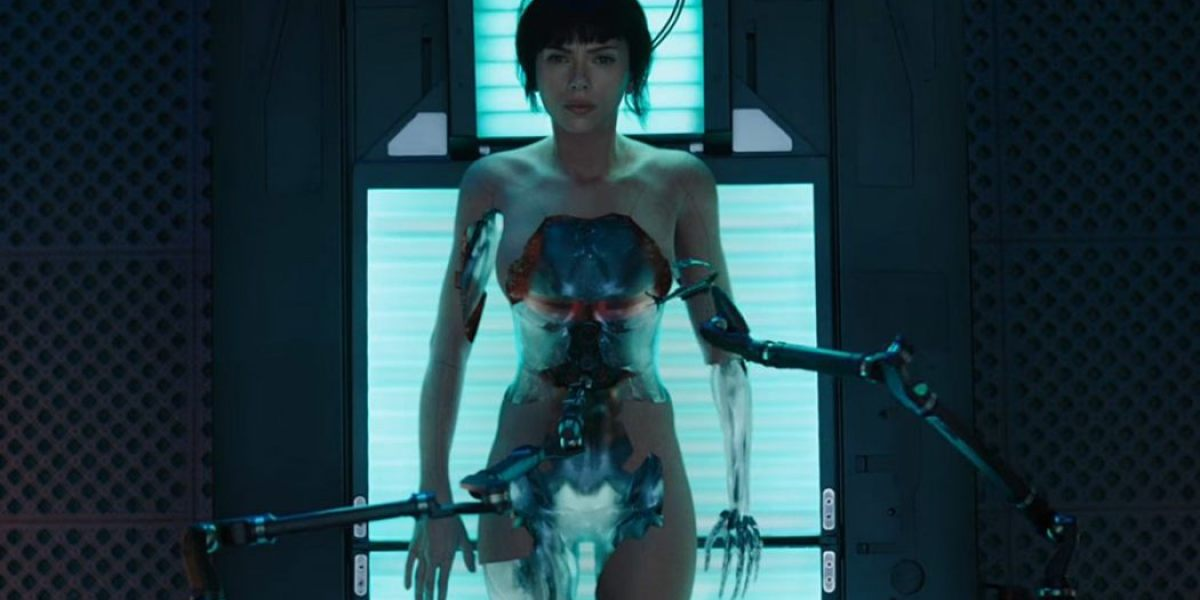 Scarlett Johansson en 'Ghost in the shell'
