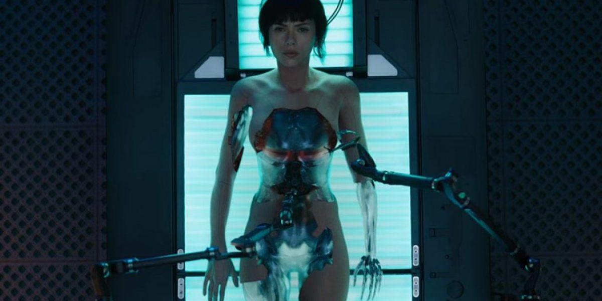 Scarlett Johansson en 'Ghost in the shell'