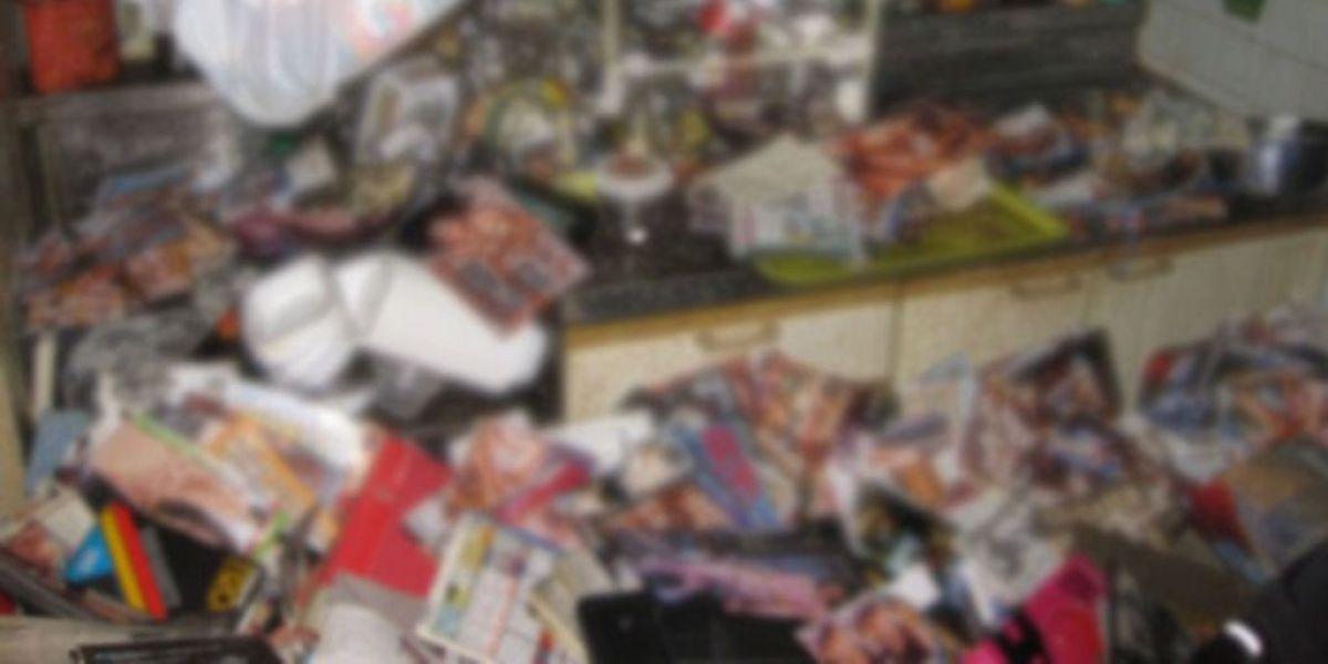 Seis toneladas de revistas porno matan a un japonés