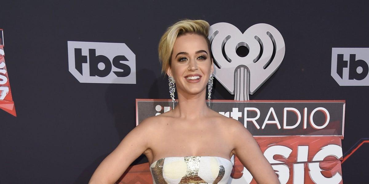 Katy Perry reaparece tras su ruptura con Orlando Bloom