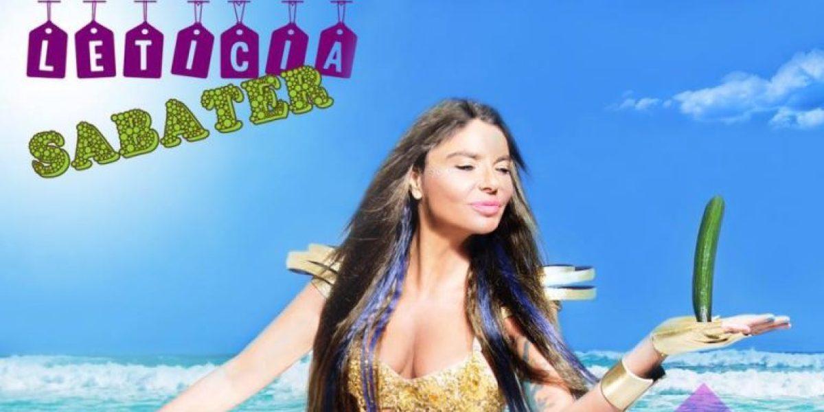 Portada de 'Toma Pepinazo', el nuevo hit de Leticia Sabater