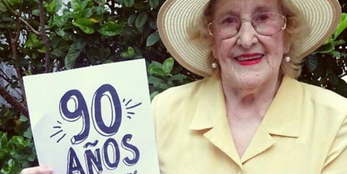 Chicha, la abuela que triunfa en Instagram