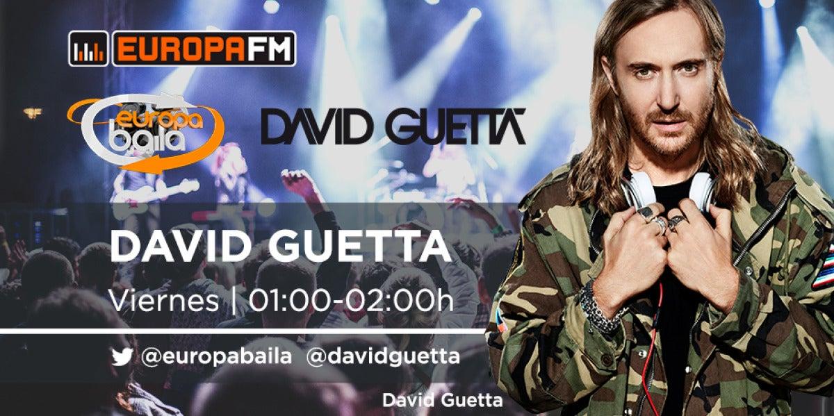 David Guetta en Europa Baila de Europa FM