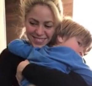 Shakira bailando bachata con su hijo Sasha