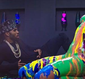 Jason Derulo en el videoclip 'Swalla' junt a Ty Dolla Sign y Nicki Minaj