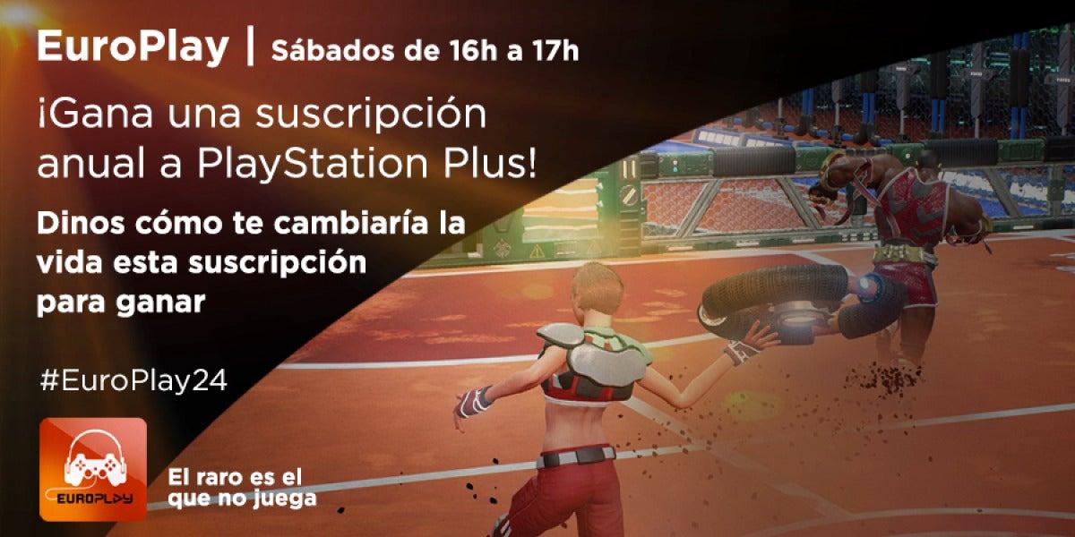 ¡Gana una suscripción anual a PlayStation Plus!
