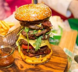 La hamburguesa de 10.000 dólares