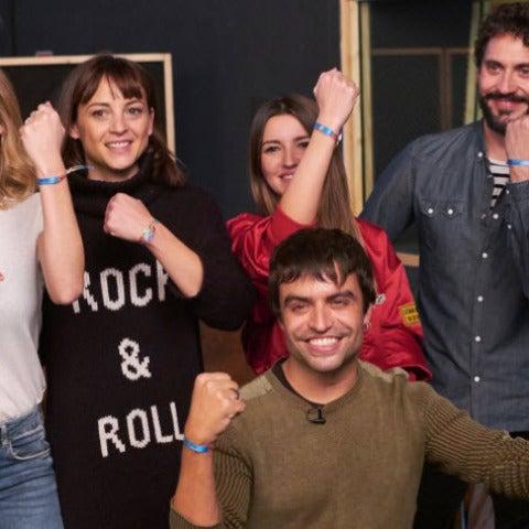David Bustamante, Kira Miró, Leonor Watling, Lovely Pepa, Paco León, Adrián Lastra y Manu Guix en Proyecto Sonrisas