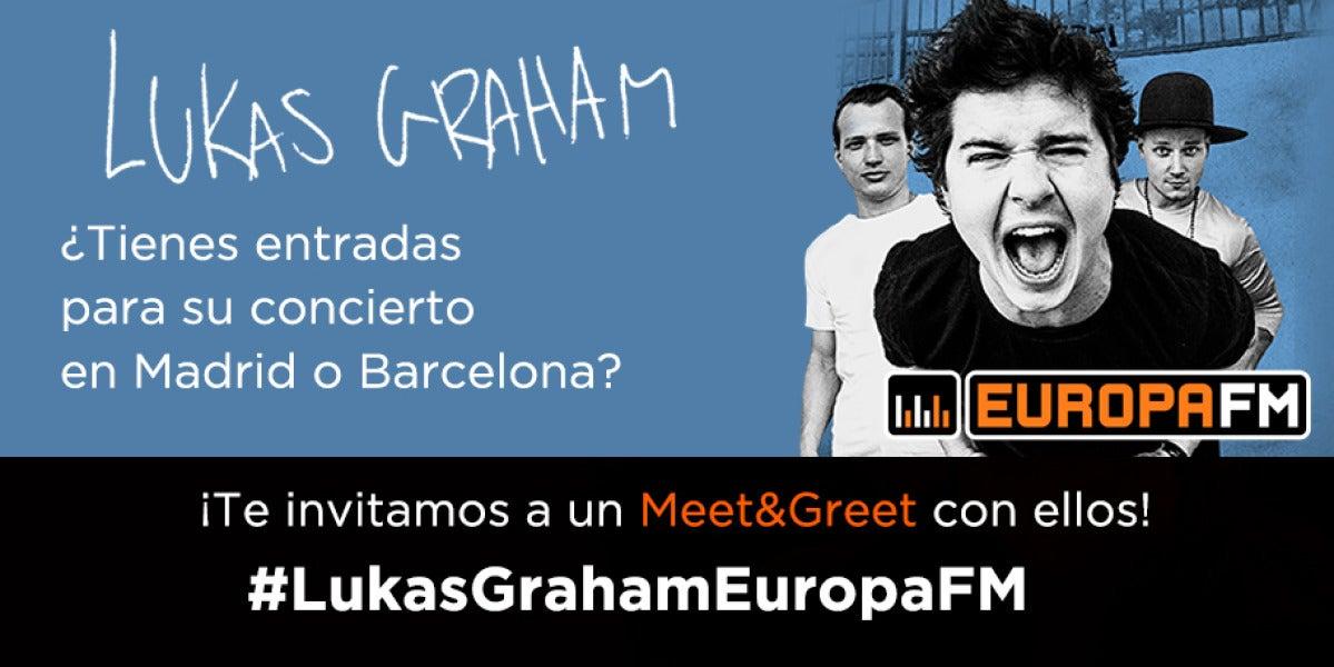 ¡Te invitamos a un Meet&Greet con Lukas Graham!