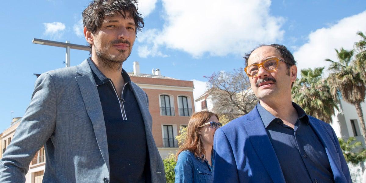 Andrés Velencoso y Jordi Sánchez