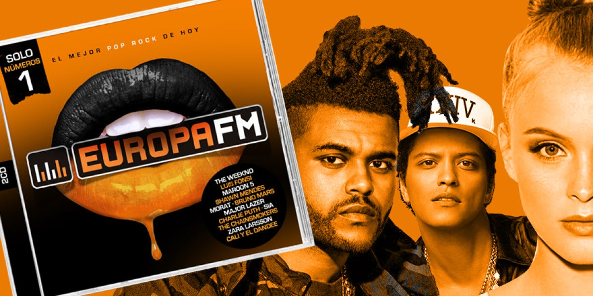 Europa FM: El disco 2017