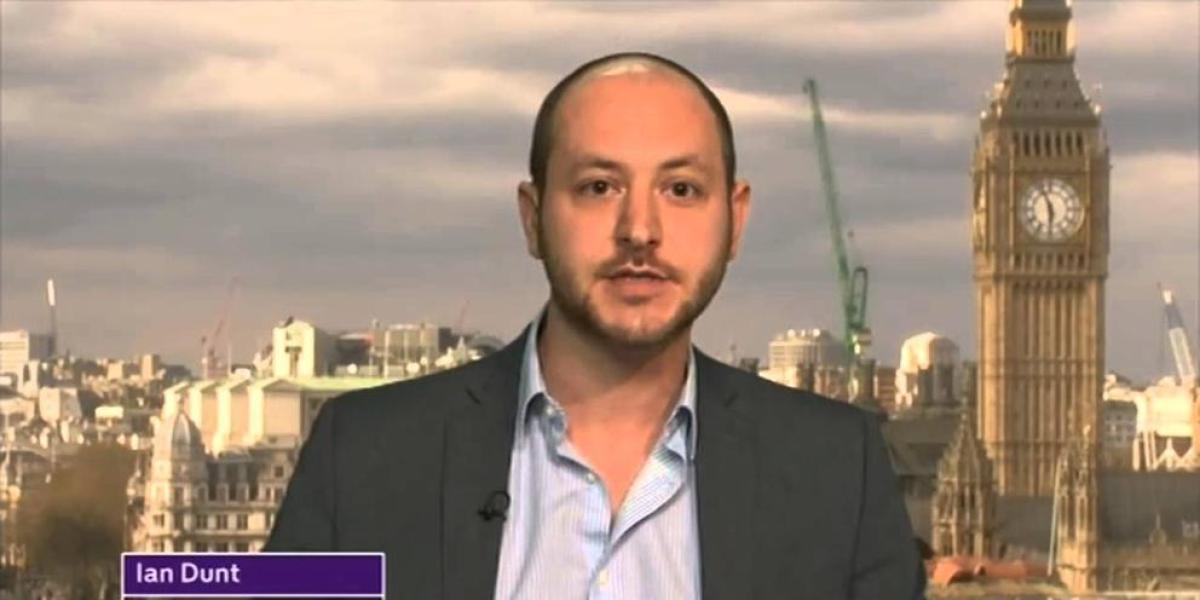Periodista británico Ian Dunt, redactor jefe de Politics.co.uk