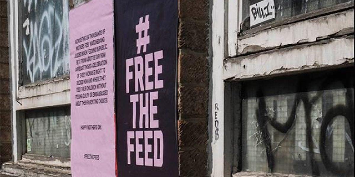 Campaña #FreetheFeed en Londres