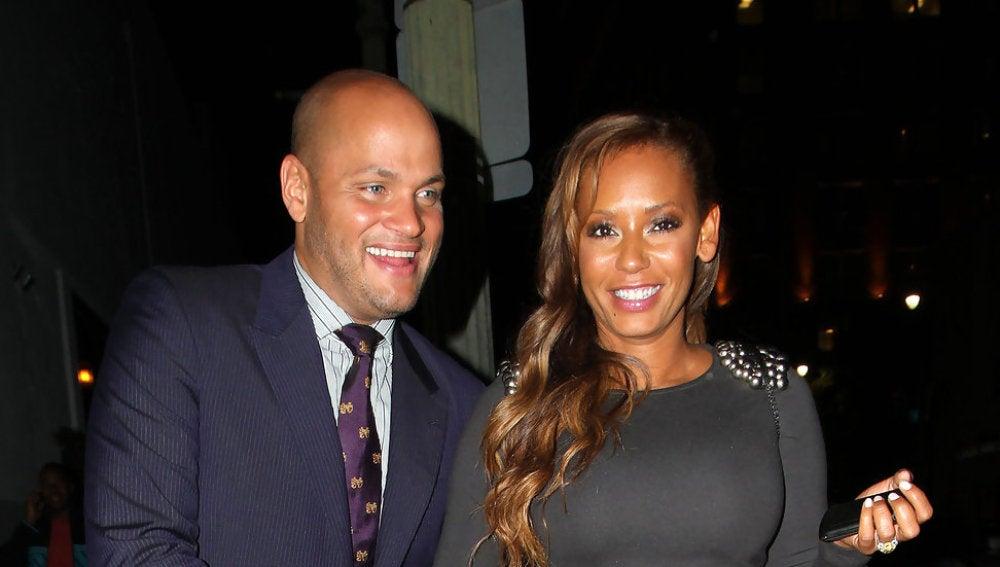 Stephen Belafonte y Melanie B