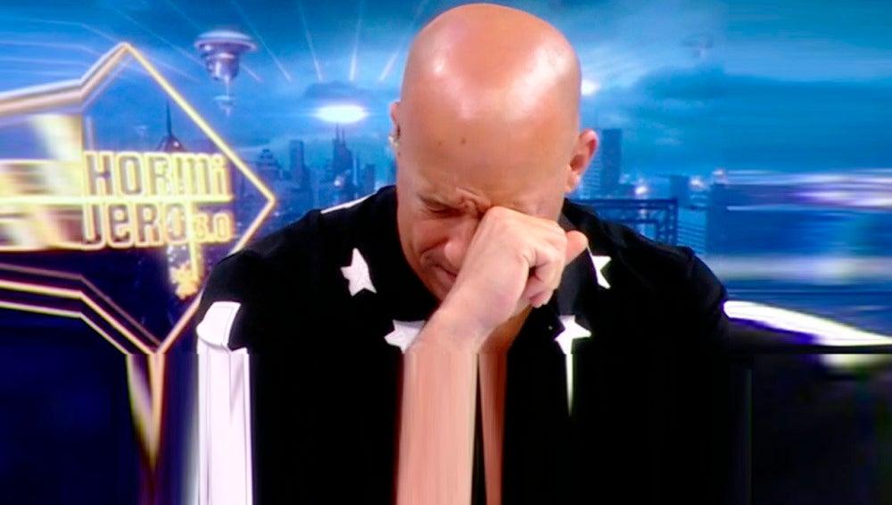 Vin Diesel, emocionado