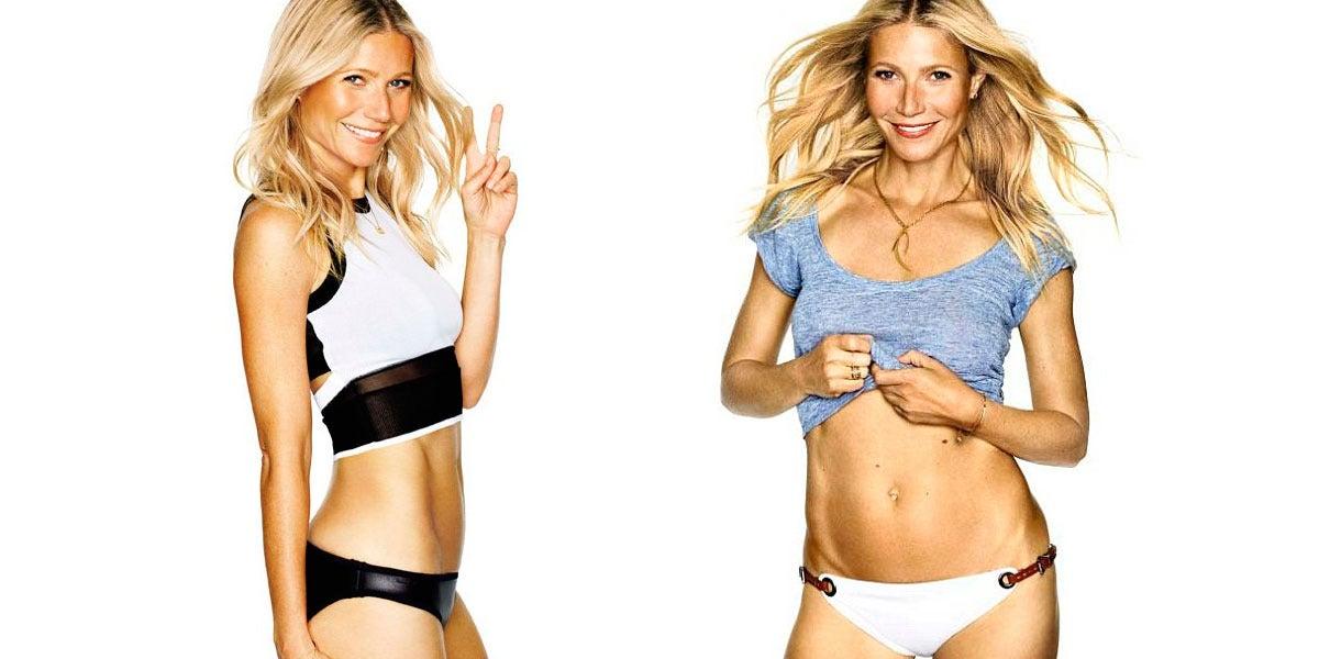 El tipazo de Gwyneth Paltrow