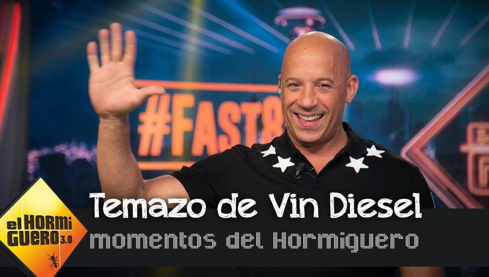 En exclusiva, el tema que ha grabado Vin Diesel junto a Nicky Jam