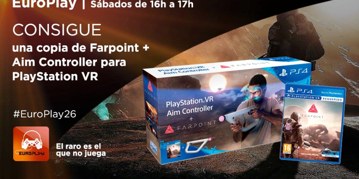 ¡Consigue una copia de Farpoint + Aim Controller para PlayStation VR!