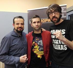 Keunam con Quique Peinado y Kiko Béjar, de EuroPlay