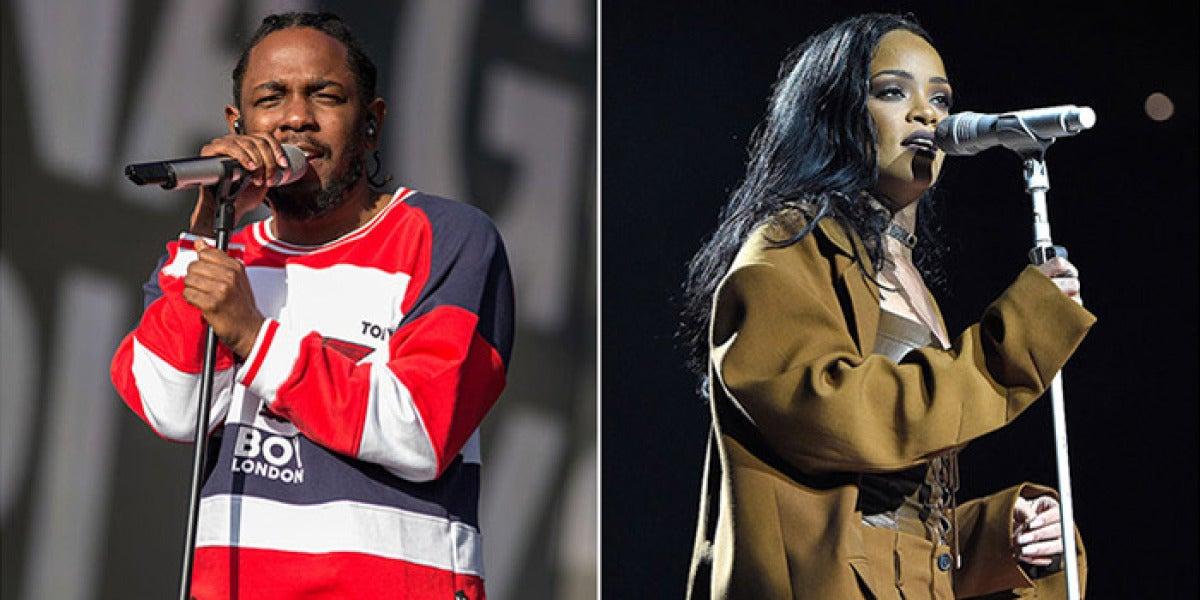 Rihanna y Kendrick Lamar