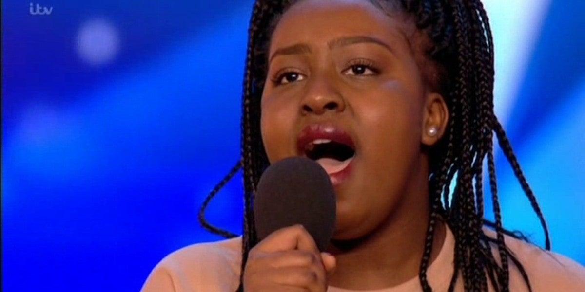 Sarah Ikumu en Britain's Got Talent