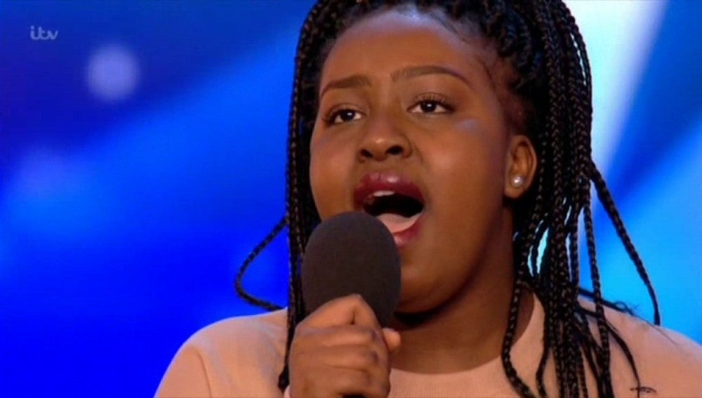 Sarah Ikumu en Britain's Got Talent