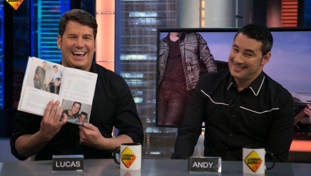 Pablo Motos cae en la confusión mundial de los nombres de Andy y Lucas