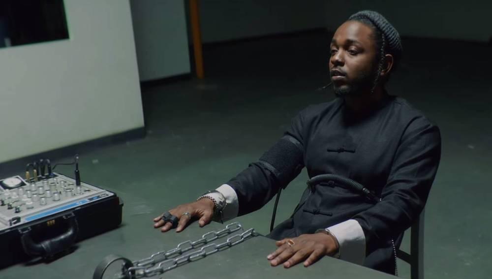 Kendrick Lamar en el videoclip de 'DNA'