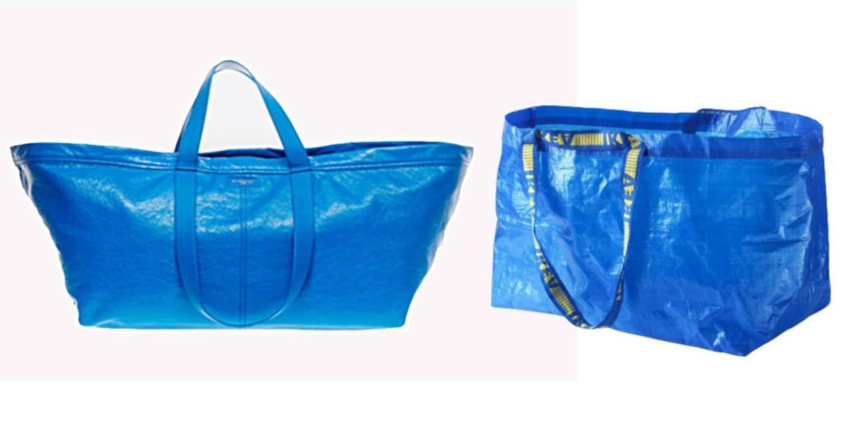 El bolso de Balenciaga vs la bolsa de IKEA
