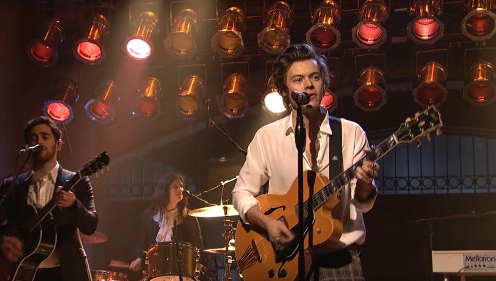Harry Styles en Saturday Night Live