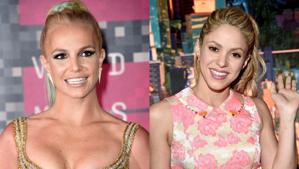 Britney Spears ignora a Shakira en Instagram