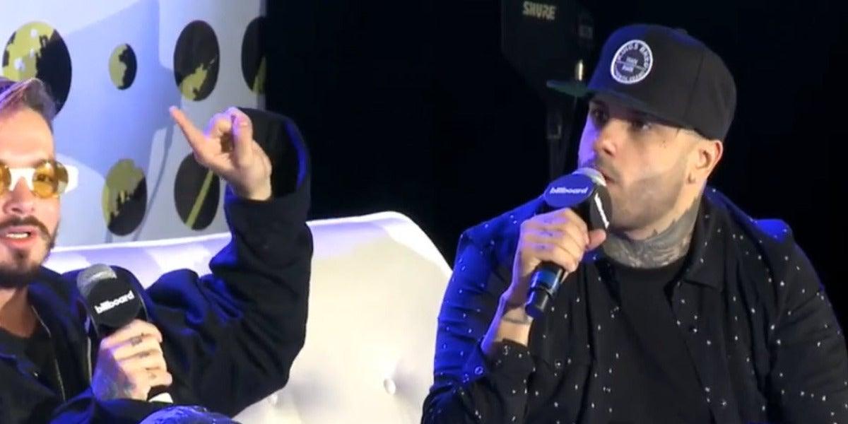 J Balvin y Nicky Jam hablando de la música latina