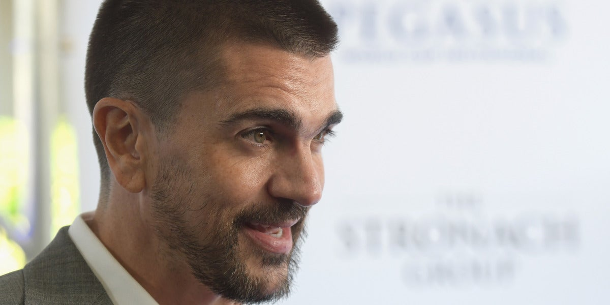 Juanes durante un evento en Miami