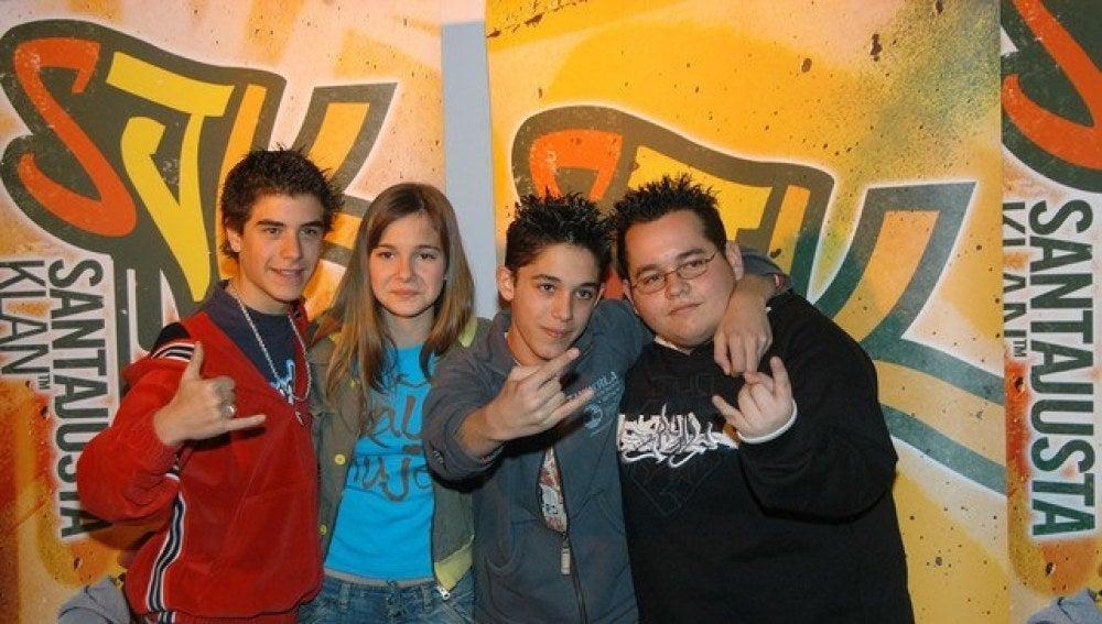 Los protagonistas de la serie 'Los Serrano'