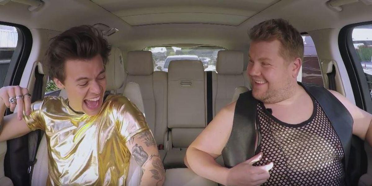 Harry Styles en Carpool Karaoke