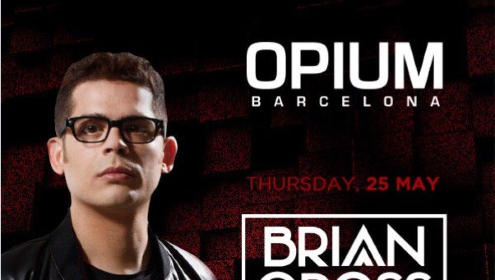 Brian Cross actuará en Opium Barcelona el 25 de mayo