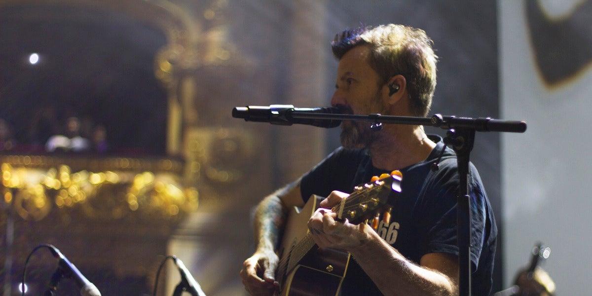 Pau Donés durante su concierto en el Gran Teatre del Liceu