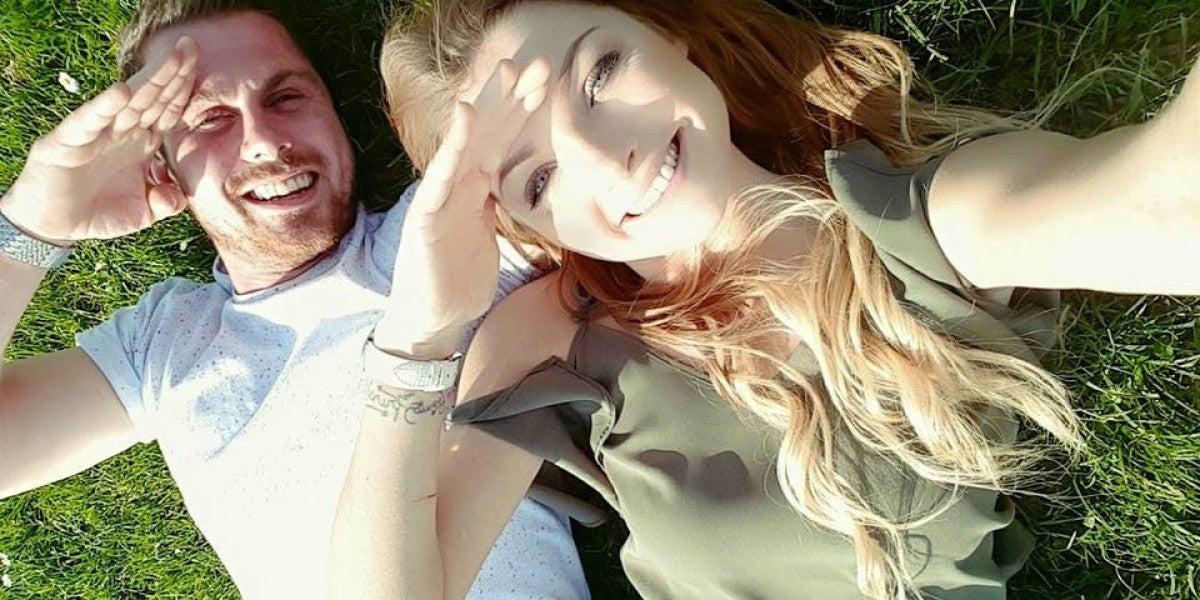 Natalie Weaver y su novio