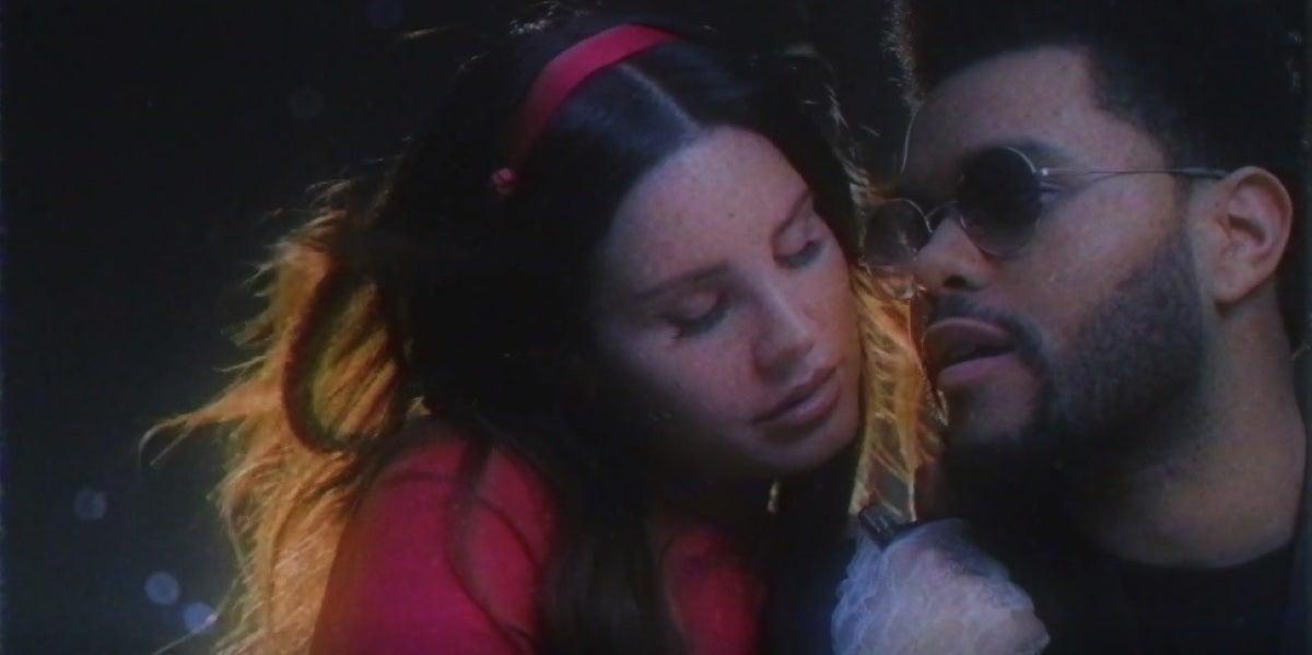 Lana del Rey y The Weeknd