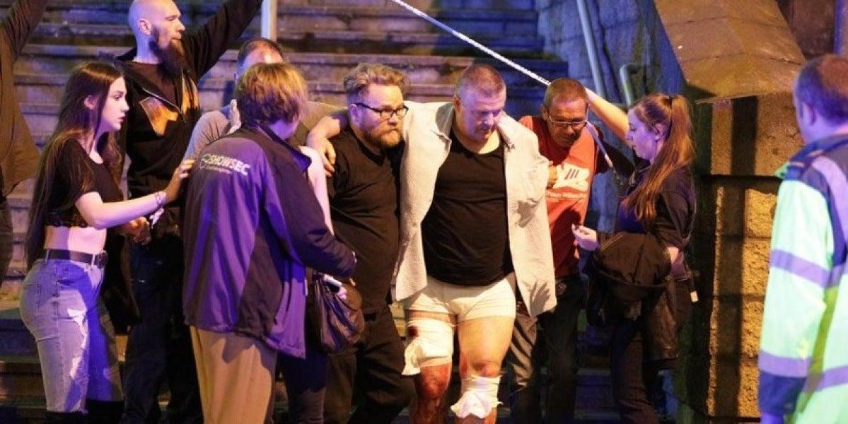 Heridos tras las explosiones en el Manchester Arena