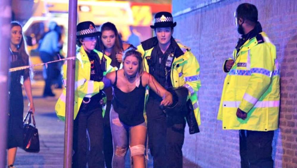 Atentado en el concierto de Ariana Grande en Manchester