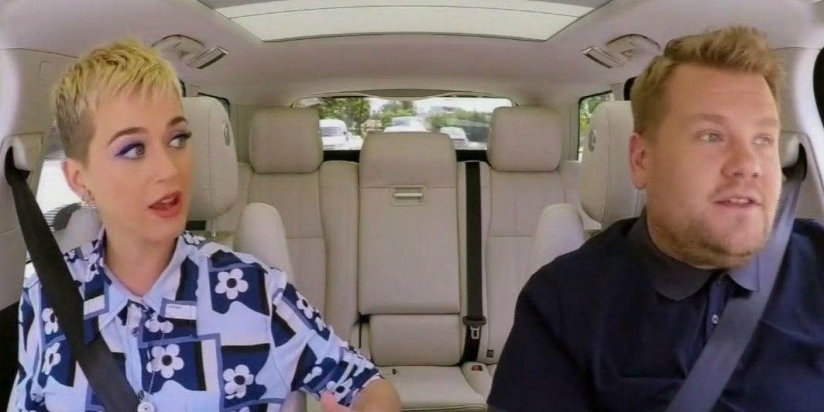 Katy Perry en el Carpool Karaoke