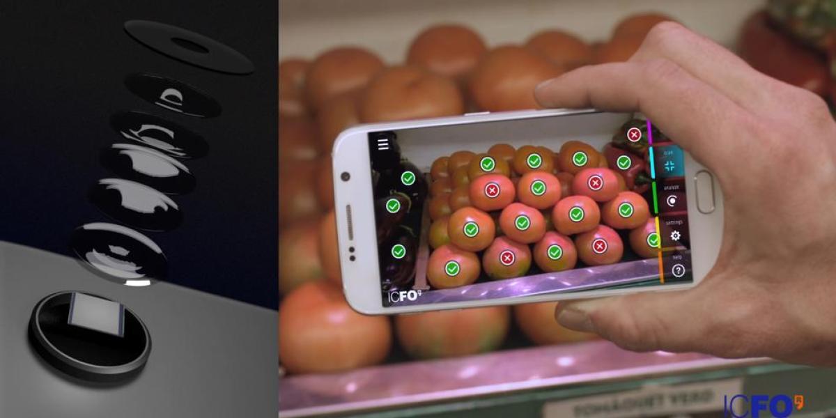 Inventan una cámara que detecta la composición química de los alimentos
